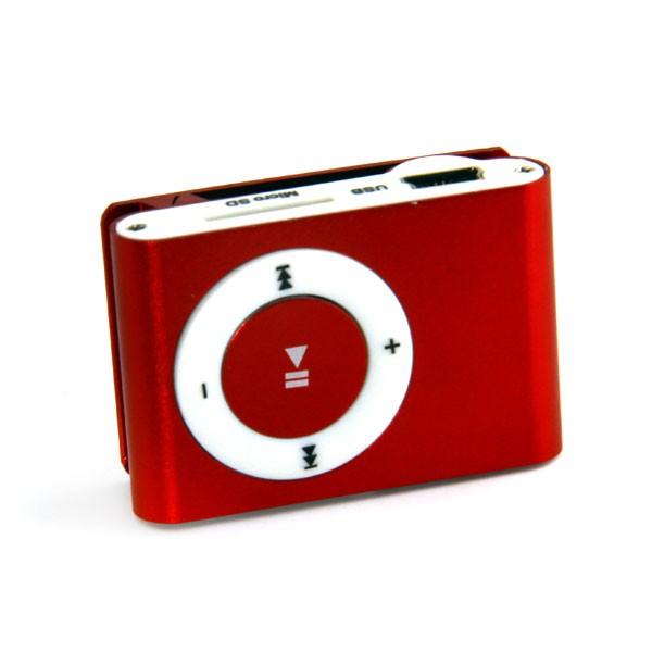 MP3  پلیر طرح اپل آی پاد قرمز