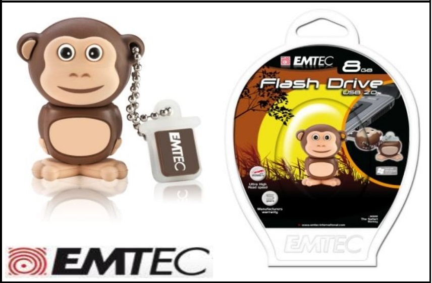 فلش مموری  Flash Memory Safari Monkey M322 - 8 GB